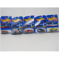 HOT WHEELS (PACKAGE OF 5)
