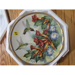 """COLLECTOR PLATE (#A9022) """"JEWELLED GLORY"""" *BY C. MCCLUNG* (LENOX)"""