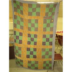 "PATCH WORK QUILT *42"" X 64""*"