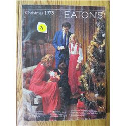 CHRISTMAS CATALOGUE (EATONS) *1975*