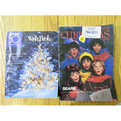 CHRISTMAS WISH BOOK (SEARS) *1986 & 2003*