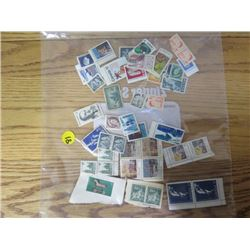 LOT OF CNDN STAMPS (JOHN DIEFENBAKER, PIERRE LAPORTE, ETC)