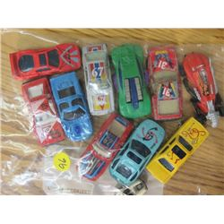 TOY CARS (MATTEL & HOT WHEELS) *QTY 10*
