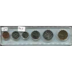 1993 CNDN SET OF COINS (6 PCS, PENNY TO DOLLAR)