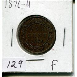 1876-H CNDN LARGE 1 CENT PC