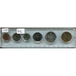 1996 CNDN SET OF COINS (6 PCS, PENNY TO DOLLAR)