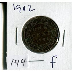 1902 CNDN LARGE 1 CENT PC
