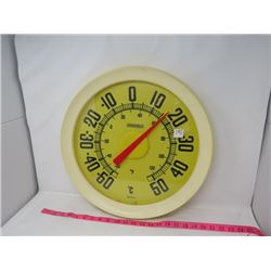 LARGE WALL THERMOMETER (BY SPRINGFIELD)