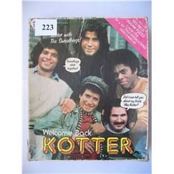 WELCOME BACK KOTTER JIGSAW PUZZLE (COMPLETE) *BOX IS ROUGH*