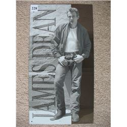 "METAL SIGN (JAMES DEAN) *8½"" X 16""*"
