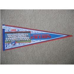 1992 PENNANT (TORONTO BLUE JAYS) *WORLD SERIES CHAMPS*