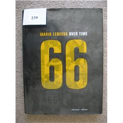 "HOCKEY BOOK (MARIO LEMIEUX) ""OVER TIME"""