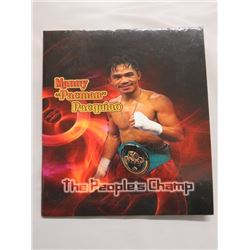 """PHILIPPINES *SOUVENIR SHEET & FIRST DAY COVER* PHILIPINNES  STAMPS (EMMNUEL """"MANY"""" PACQUIAO)"""