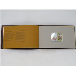 SOUVENIR STAMP COLLECTION (CANADA 1976 MONTREAL OLYMPIC GAMES) *VOLUME 1*