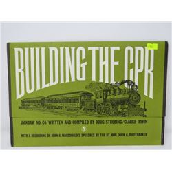 JACKDAW NO. C4 BUILDING THE CPR (REPRODUCED JOHN A MACDONALD LETTERS, POSTERS, PHOTOS, ETC0