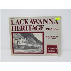 HISTORICAL BOOK ON (LACKAWANNA) RAILROAD