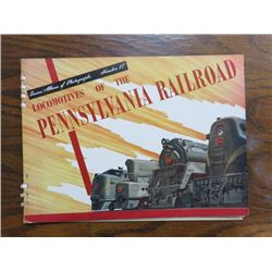 PHOTO ALBUM (STEAM LOCOMOTIVES) 'PENNSYLVANIA RAILROAD NO. 17'