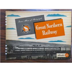 PHOTO ALBUM (STEAM LOCOMOTIVES) 'GREAT NORTHERN RAILWAY NO. 15'