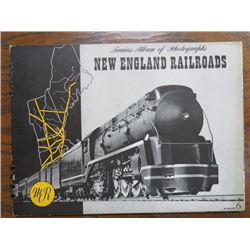PHOTO ALBUM (STEAM LOCOMOTIVES) 'NEW ENGLAND RAILROADS NO. 6'