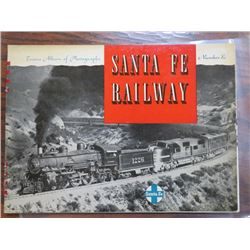 STEAM TRAIN PHOTO ALBUM (SANTA FE RAILWAY NO. 12)