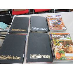 MONTHLY MAGAZINES (CANADIAN HOME WORKSHOP) *23 BINDERS, QTY 36 LOOSE*