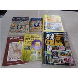 BOX OF 6 CATALOGUES