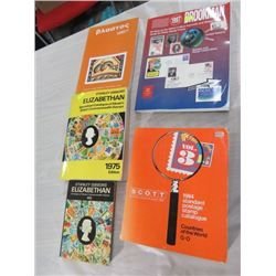 BOX OF 5 CATALOGUES