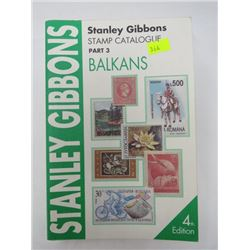 CATALOGUE (STANLEY GIBBONS STAMP PART 3) 'BALKANS'
