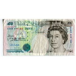 5 POUND NOTE (GREAT BRITAIN) *FACE VALUE $10*