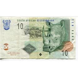 4 BANK NOTES 5, 10, 20, 50 RAND (SOUTH AFRICA)