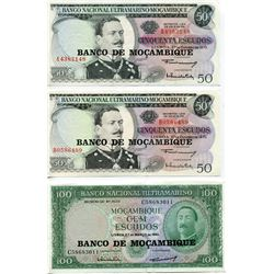 BANK NOTE (MOZAMBIQUE) *50 METICAIS*