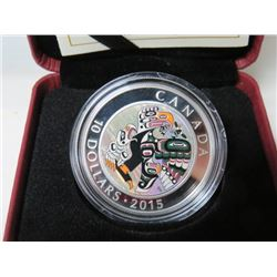 2015 CNDN $10 COIN (MOTHER FEEDING BABY) *RETAIL $70*