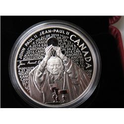 2014 CNDN $10 COIN (POPE JOHN PAUL) *RETAIL $70*