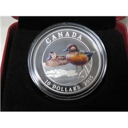2015 CNDN $10 COIN (CINNAMON TEAL) *RETAIL $70*