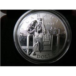 2014 CNDN $10 COIN (MOBILIZATION FOR WAR) *RETAIL $50*
