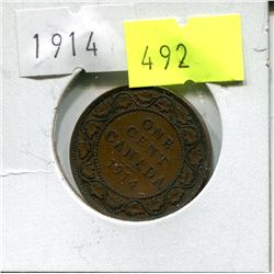 1914 CNDN LARGE PENNY