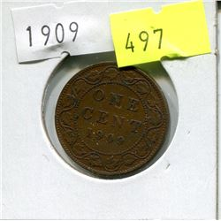1909 CNDN LARGE PENNY