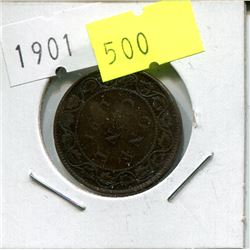 1901 CNDN LARGE PENNY