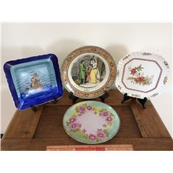 LOT OF 4 COLLECTOR PLATES *NO CHIPS*