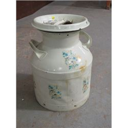CREAM CAN (5 GAL) *PAINTED*