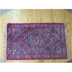 "TAPESTRY CENTER PIECE/RUG (TASSLED) *45"" X 25""*"