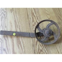 "CAST PULLEY (ON LEVER) *7""*"