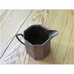 COPPER CREAMER (INTRICATE DESIGN)
