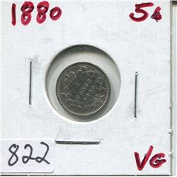1880 CNDN 5 CENT PC (SILVER)