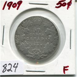1909 CNDN 50 CENT PC (SILVER)