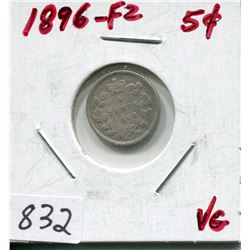 1896 CNDN 5 CENT PC (SILVER)