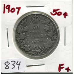 1907 CNDN 50 CENT PC (SILVER)
