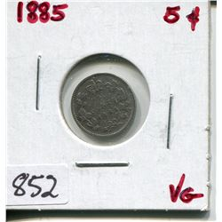 1885 CNDN 5 CENT PC (SILVER)