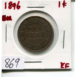 1896 CNDN LARGE 1 CENT PC