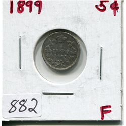 1899 CNDN 5 CENT PC (SILVER)